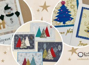Cartes de Noël faciles à fabriquer