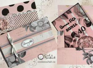 Comment fabriquer une enveloppe boîte pour les cartes de souhait qui sont plus épaisses ou les albums photos.