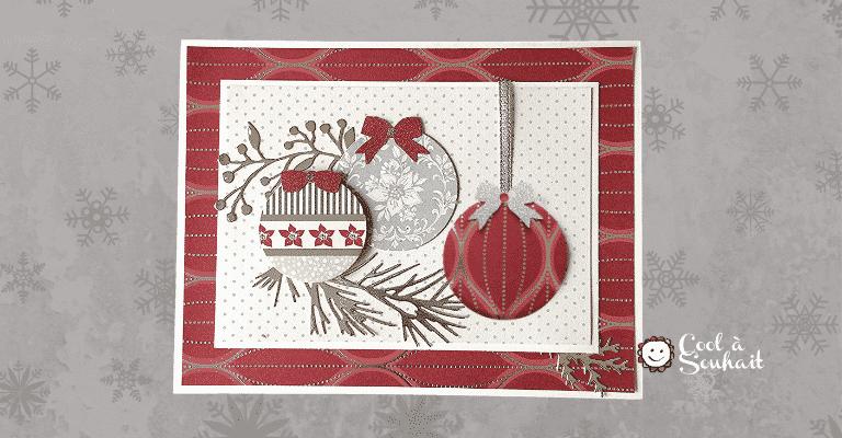 Carte de Noël fait main.