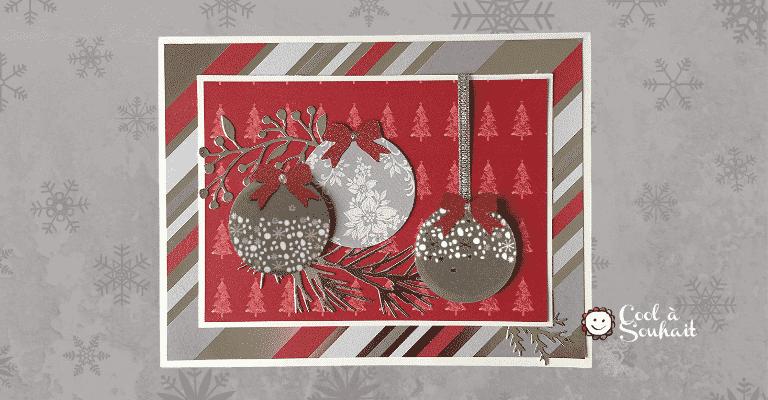Cartes de Noël faites à la main.