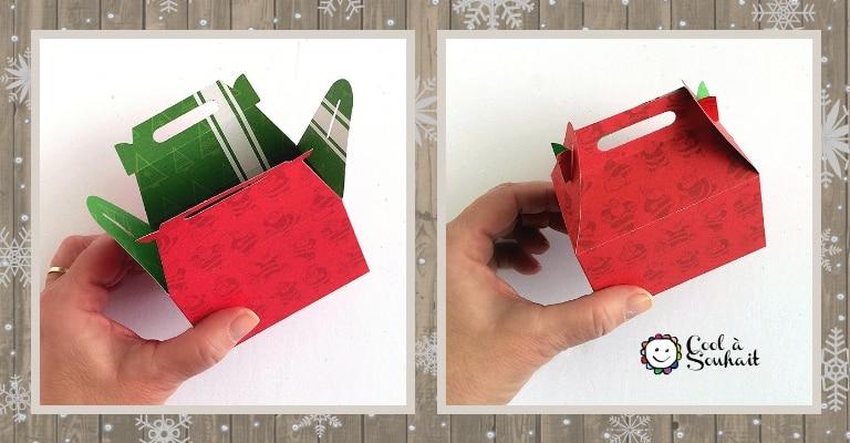 Petites boîtes cadeaux découpées avec la Cuttlebug.