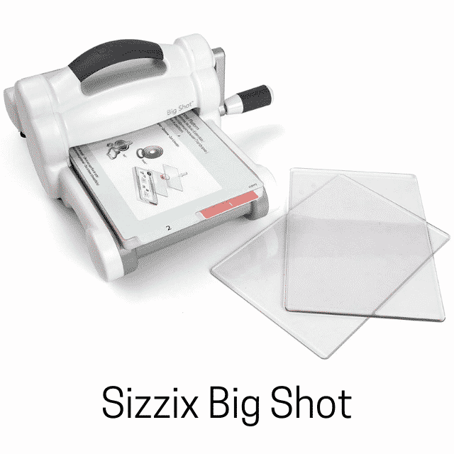 Sizzix Big Shot, machine à découper et embosser.