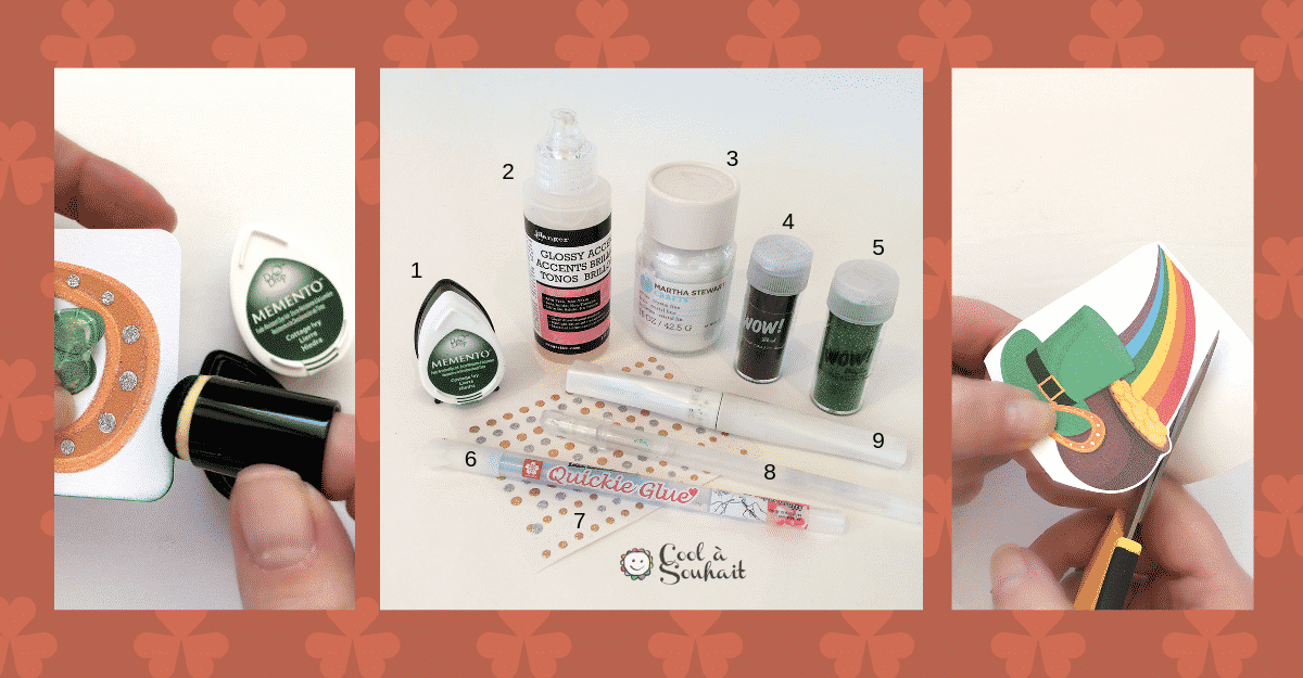 Cartes St.Patrick, tutoriel.