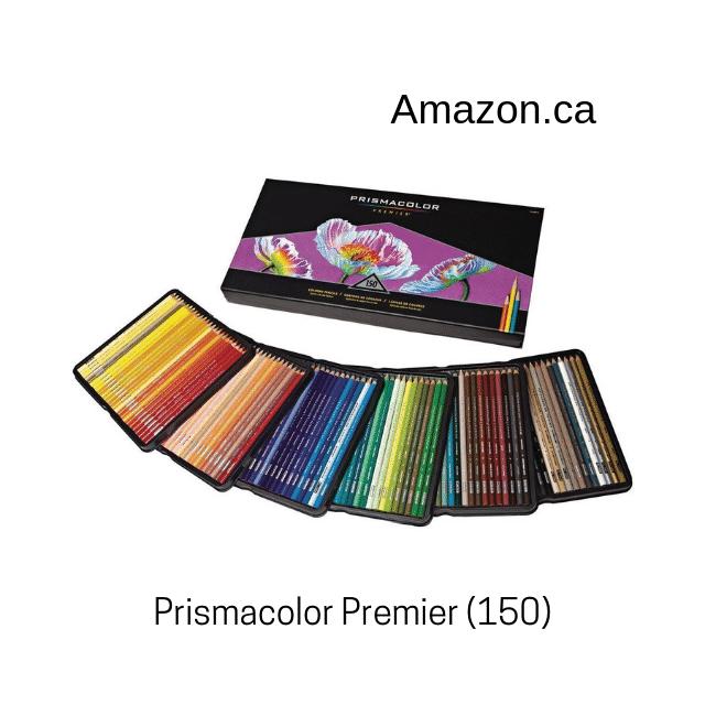 Prismacolor Premier 150 crayons de couleur.
