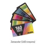 Crayons de couleur Zenacolor.