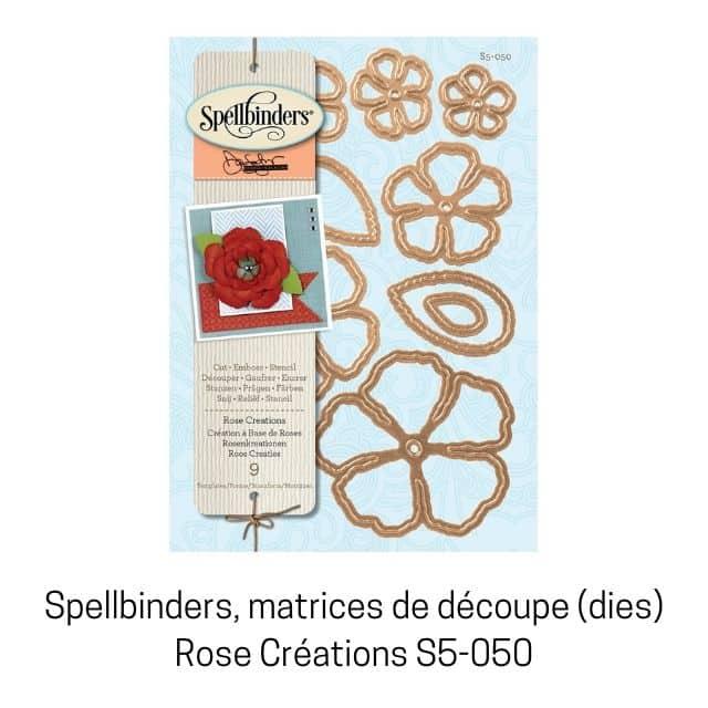 Spellbinders Rose Creations S5-050