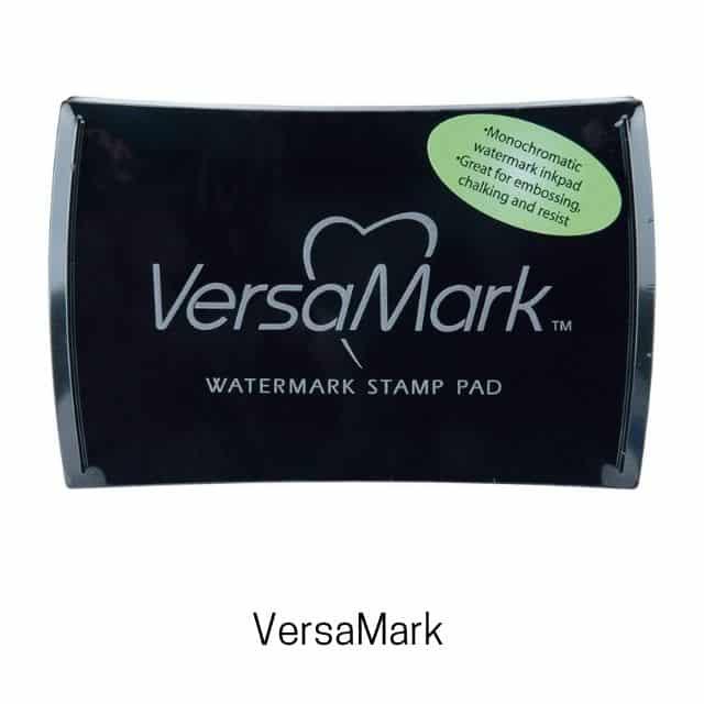 VersaMark encre pour embossage à chaud.