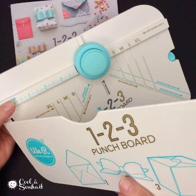 Punch board 1-2-3 We R